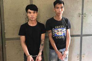 Bắt 2 đối tượng trộm chó, giết người khi bị truy đuổi