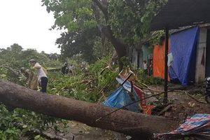 Giông lốc kinh hoàng càn quét huyện miền núi, hàng chục ngôi nhà bị tốc mái