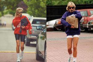 Chân dài Hailey Bieber hóa thành Công nương Diana trong loạt ảnh chụp thời trang