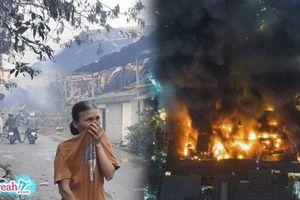 Cháy nhà máy bóng đèn ở Hà Nội : Sự thật về lời đồn đoán bão số 4 sẽ thổi phốt pho và thủy ngân bị rò rỉ đi khắp thành phố
