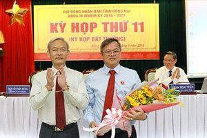 Ông Cao Tiến Dũng được bầu làm Chủ tịch tỉnh Đồng Nai