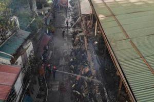 Khuyến nghị không ăn thực phẩm trong bán kính 1km sau vụ cháy Công ty Rạng Đông