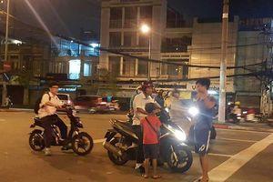 Trẻ được đưa từ nơi khác đến thành phố lang thang ăn xin