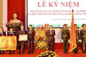 Kỷ niệm 20 năm tái lập huyện Tam Nông (Phú Thọ)