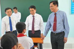 Chủ tịch Nguyễn Đức Chung dự lễ khánh thành và khai giảng tại Trường THCS Trần Hưng Đạo, tỉnh Phú Yên