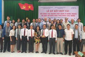 Đồng Tháp gặp gỡ kiều bào tiêu biểu, doanh nhân Việt Nam ở nước ngoài