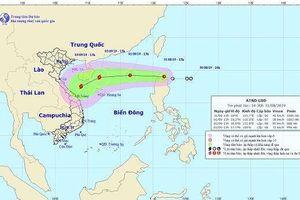 Áp thấp nhiệt đới đang vào Biển Đông, khả năng mạnh lên thành bão
