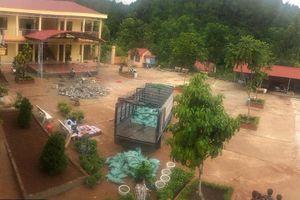 Lạng Sơn: Hàng loạt học sinh phải nghỉ học vì mưa bão