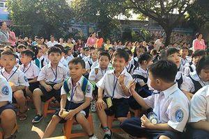 Học sinh tiểu học ở Sài Gòn dùng nhiều nhất chỉ 3 quyển vở