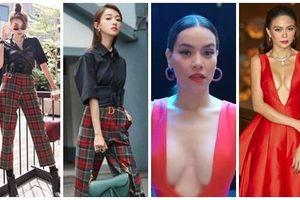 SAO ĐỤNG HÀNG THÁNG 8: Hồ Ngọc Hà, Thanh Hằng đụng hàng xuyên quốc gia vẫn khẳng định đẳng cấp thời trang đỉnh cao