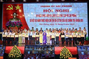 Hải Phòng tổ chức Hội nghị 50 năm thực hiện Di chúc của Chủ tịch Hồ Chí Minh