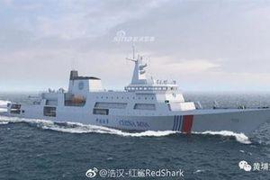 Trung Quốc sẽ đóng cho Hải cảnh tàu tuần tra siêu lớn dựa trên thiết kế khu trục hạm Type 055
