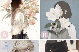Trắc nghiệm: Nhìn thấu thế giới nội tâm của bạn qua bài test 'cô gái giấu mặt'