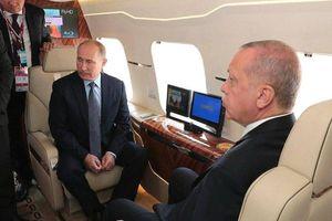 Erdogan: Đang đàm phán với Nga về việc mua máy bay chiến đấu Su-57