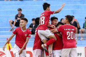 Vô địch sớm 2 vòng đấu, Hồng Lĩnh Hà Tĩnh chính thức thăng hạng