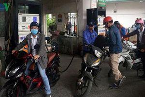 Giá xăng dầu giảm từ 15h ngày 31/8