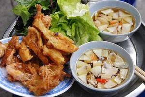 Bánh tôm hồ Tây - món ăn chứa đầy ký ức của người Hà Nội