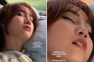 Ninh Dương Lan Ngọc bị đăng ảnh 'dìm' nhan sắc lúc ngủ
