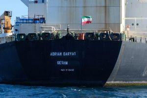 Tàu chở dầu Iran đang ở ngoài khơi Syria