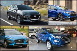Tầm giá 600 triệu đồng nên mua Ford EcoSport, Hyundai KONA hay Honda HR-V?