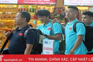 ĐT Việt Nam lên đường, tự tin đánh bại Thái Lan