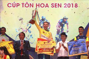 Giải xe đạp quốc tế VTV Cúp Tôn Hoa Sen 2019 – lần thứ 4: Vận động viên Im Jaeyeon giành áo Vàng chặng 1