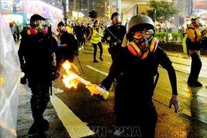 Hong Kong (Trung Quốc) vừa trải qua 'đêm thảm họa'