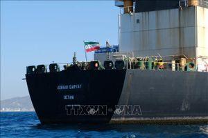 Siêu tàu chở dầu của Iran cách bờ biển Syria 50 hải lý