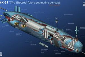 Bản nâng cấp cực mạnh của 'tàu ngầm bò sát' SMX-26 trứ danh