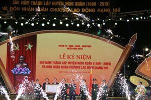 Nghi Xuân (Hà Tĩnh) kỷ niệm 550 năm thành lập huyện