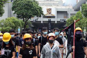 Biểu tình Hong Kong: 10.000 HS-SV bãi khóa ngày đầu năm học