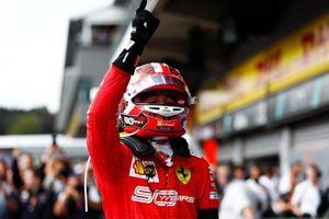Vượt Hamilton, Leclerc lần đầu thắng chặng đua F1 tại Bỉ