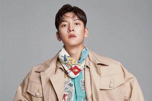 Ji Chang Wook diện cả cây Louis Vuitton kén người mặc trên tạp chí