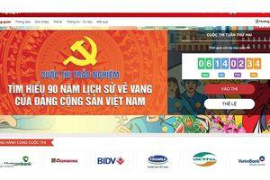 Gần 20 nghìn lượt người tham gia thi tuần thứ nhất cuộc thi tìm hiểu lịch sử Đảng