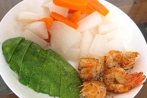Thực đơn siêu đơn giản với đầy đủ thịt cá vẫn giảm 4kg trong 3 tuần