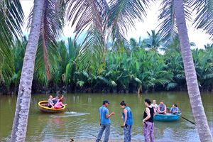 Bảo tồn tài nguyên du lịch ở rừng dừa nước Cẩm Thanh