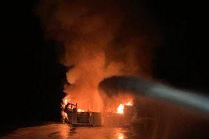 Cháy tàu ở California: ít nhất 34 người thiệt mạng