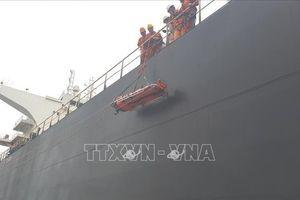 Kịp thời cấp cứu thuyền viên Trung Quốc bị gãy xương đùi phải trên biển