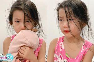 Lén thoa son, con gái 6 tuổi của Ốc Thanh Vân khóc sướt mướt vì bị mẹ bắt gặp