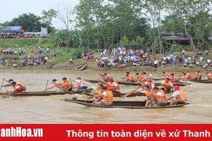 Sôi nổi Lễ hội đua thuyền truyền thống tại xã Quý Lộc