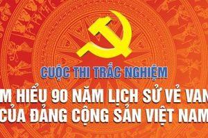 Kết quả thi trắc nghiệm 'Tìm hiểu 90 năm lịch sử vẻ vang của Đảng Cộng sản Việt Nam', tuần thứ nhất (26-8 đến 2-9-2019)