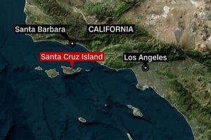 Cháy tàu kinh hoàng ngoài khơi Mỹ, hàng chục người chết