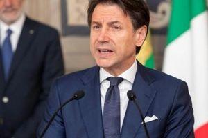 Thủ tướng Italy kêu gọi đảng 5 sao ủng hộ chính phủ mới