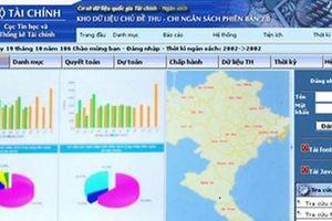 Bộ Tài chính vận hành Kho dữ liệu NSNN