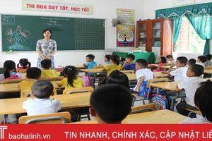 Hà Tĩnh hóa giải tình trạng thiếu giáo viên tiểu học