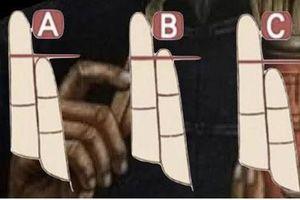 Trắc nghiệm: Nhìn thấu 8 điều không thể chối cãi ở bạn qua ngón tay út