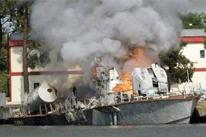 Giải mật vụ tàu tên lửa tấn công nhanh tối tân nhất của Gruzia bị đặc nhiệm Nga phá hủy