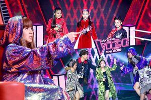 HLV Lưu Thiên Hương 'chơi lớn' ngay vòng Đối đầu: Bảo sao trò cưng không kéo nhau vào Top Trending!