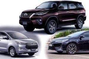Toyota 'chơi lớn', giảm 50% phí trước bạ cho ba mẫu xe Corolla Altis, Fortuner và Innova