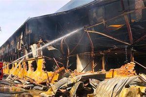 Bộ trưởng Tài nguyên đánh giá mức độ nguy hại vụ cháy xưởng bóng đèn Rạng Đông